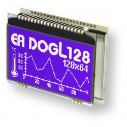 ELECTRONIC ASSEMBLY EA DOGL128W-6