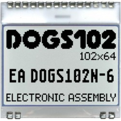 ELECTRONIC ASSEMBLY EA DOGS102N-6