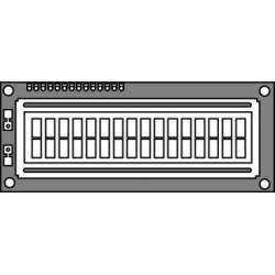 Hantronix HDM16216H-5-S00S