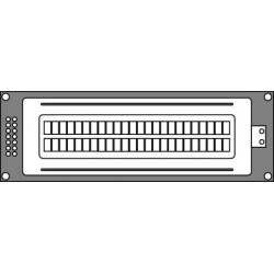 Hantronix HDM24216L-2-L30S
