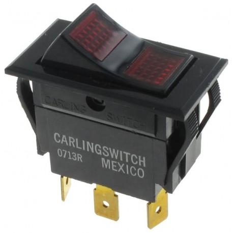 Carling Technologies LTILB51-6S-BL-RC-NBL-12V