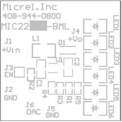 Micrel MIC2287 3-LED EV