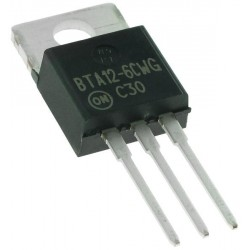 ON Semiconductor BTA12-600CW3G