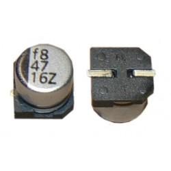 Cornell Dubilier AVE107M06D16T-F