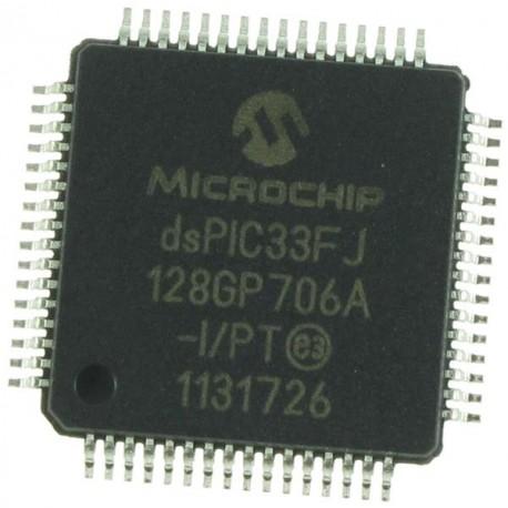 Microchip DSPIC33FJ128GP706A-I/PT