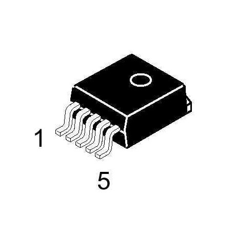 ON Semiconductor LM2576D2TR4-5G