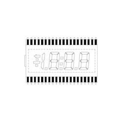 Lumex LCD-S3X1C50TF/C